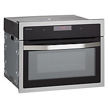 Buy John Lewis JLBIMW02 Built-In Microwave, Black Online at johnlewis.com