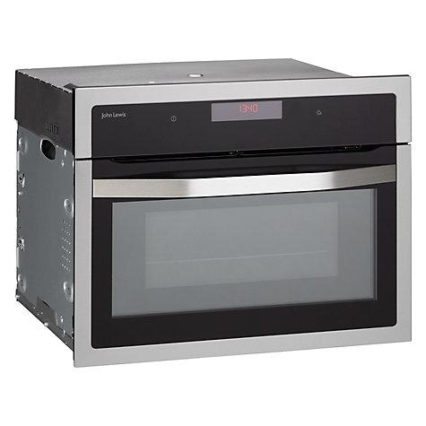 buy john lewis jlbimw03 built in microwave black john lewis. Black Bedroom Furniture Sets. Home Design Ideas