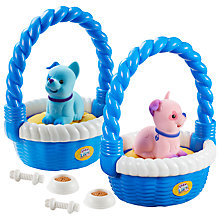 Buy Little Live Pets Puppy Basket Toy, Assorted Online at johnlewis.com