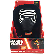 Buy Star Wars Talking Plush, Kylo Ren Online at johnlewis.com