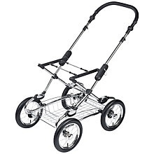 Buy Silver Cross Elegance Pram Chassis, Chrome Online at johnlewis.com