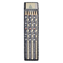 Buy John Lewis Coastal Pencil Set, Set of 6 Online at johnlewis.com