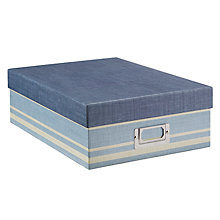 Buy John Lewis Coastal A4 Storage Box Online at johnlewis.com