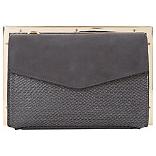 Buy Dune Beveline Double Pocket Frame Clutch Bag Online at johnlewis.com