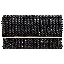 Buy Dune Eternity Beaded Clutch Bag, Black Online at johnlewis.com