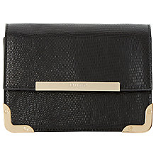 Buy Dune Enrika Patent Foldover Clutch Bag Online at johnlewis.com