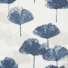 Buy John Lewis Water Lily Furnishing Fabric, Blue Haze Online at johnlewis.com