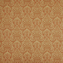 Buy John Lewis Tripoli Damask Furnishing Fabric, Red Online at johnlewis.com