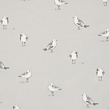 Buy John Lewis Seagulls Curtain, Smoke Online at johnlewis.com
