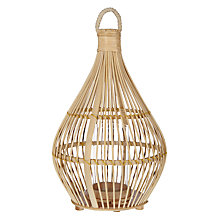 Buy Bamboo Small Lantern Online at johnlewis.com