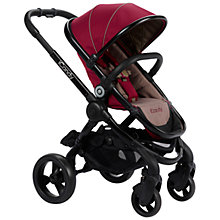 Buy iCandy Peach Pushchair with Black Chassis & Claret Hood Online at johnlewis.com