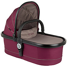 Buy iCandy Peach Carrycot, Claret Online at johnlewis.com