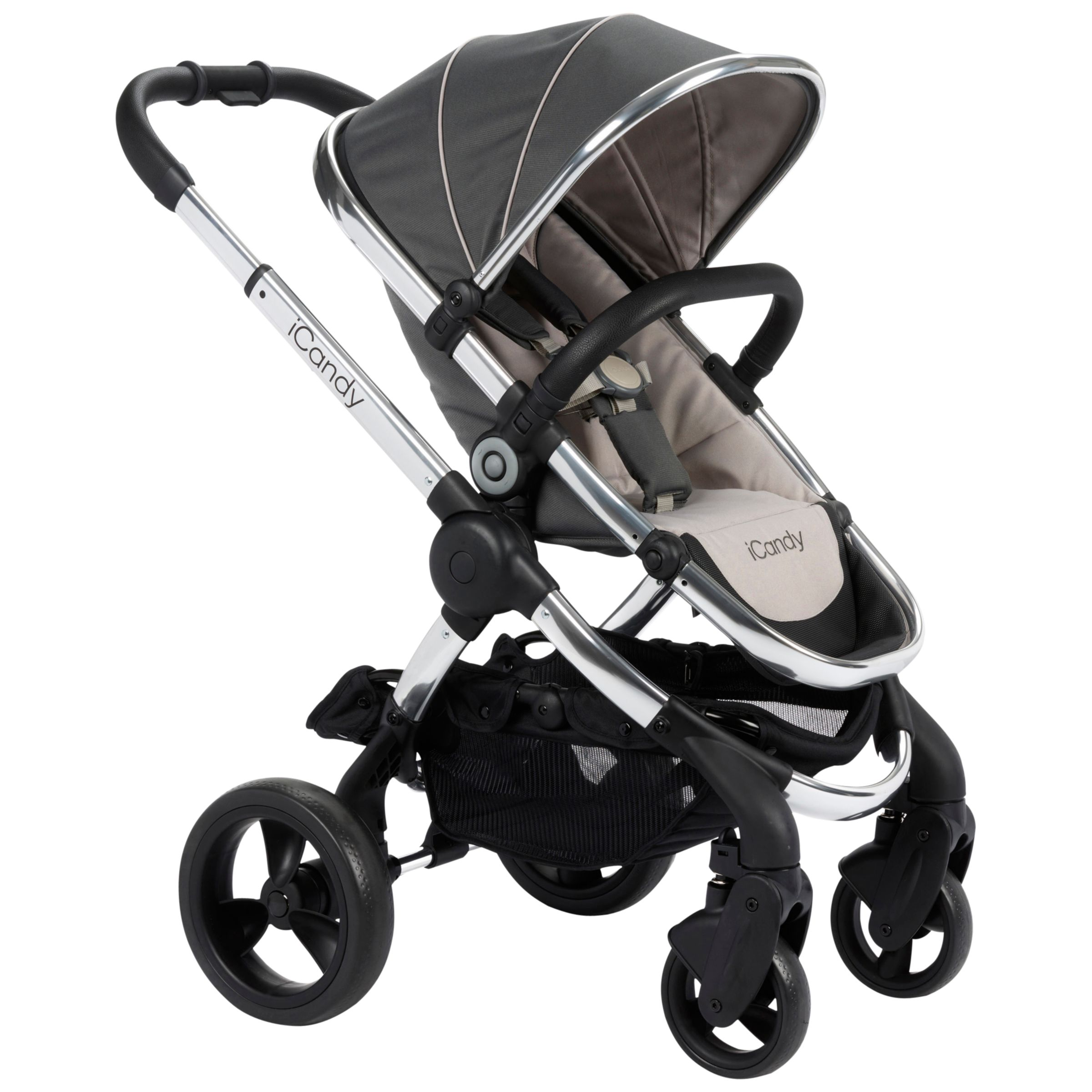 iCandy iCandy Peach Pushchair with Chrome Chassis & Truffle 2 Hood