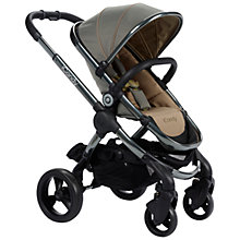 Buy iCandy Peach Pushchair with Grey Chassis & Olive Hood Online at johnlewis.com