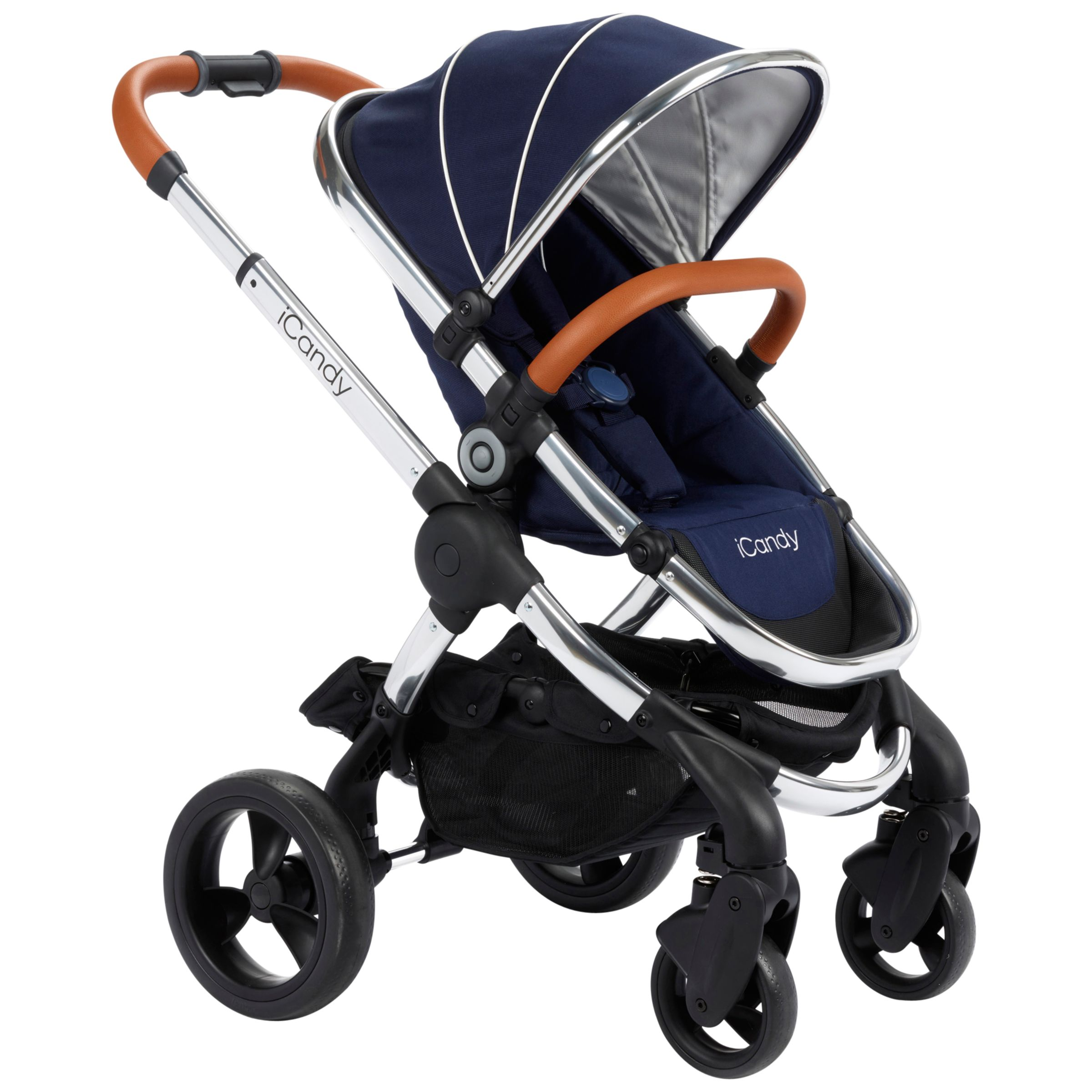 iCandy iCandy Peach Pushchair with Chrome Chassis & Royal Hood