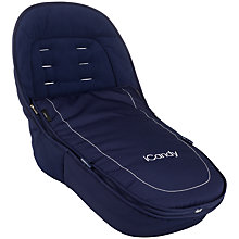 Buy iCandy Peach Luxury Footmuff, Royal Online at johnlewis.com