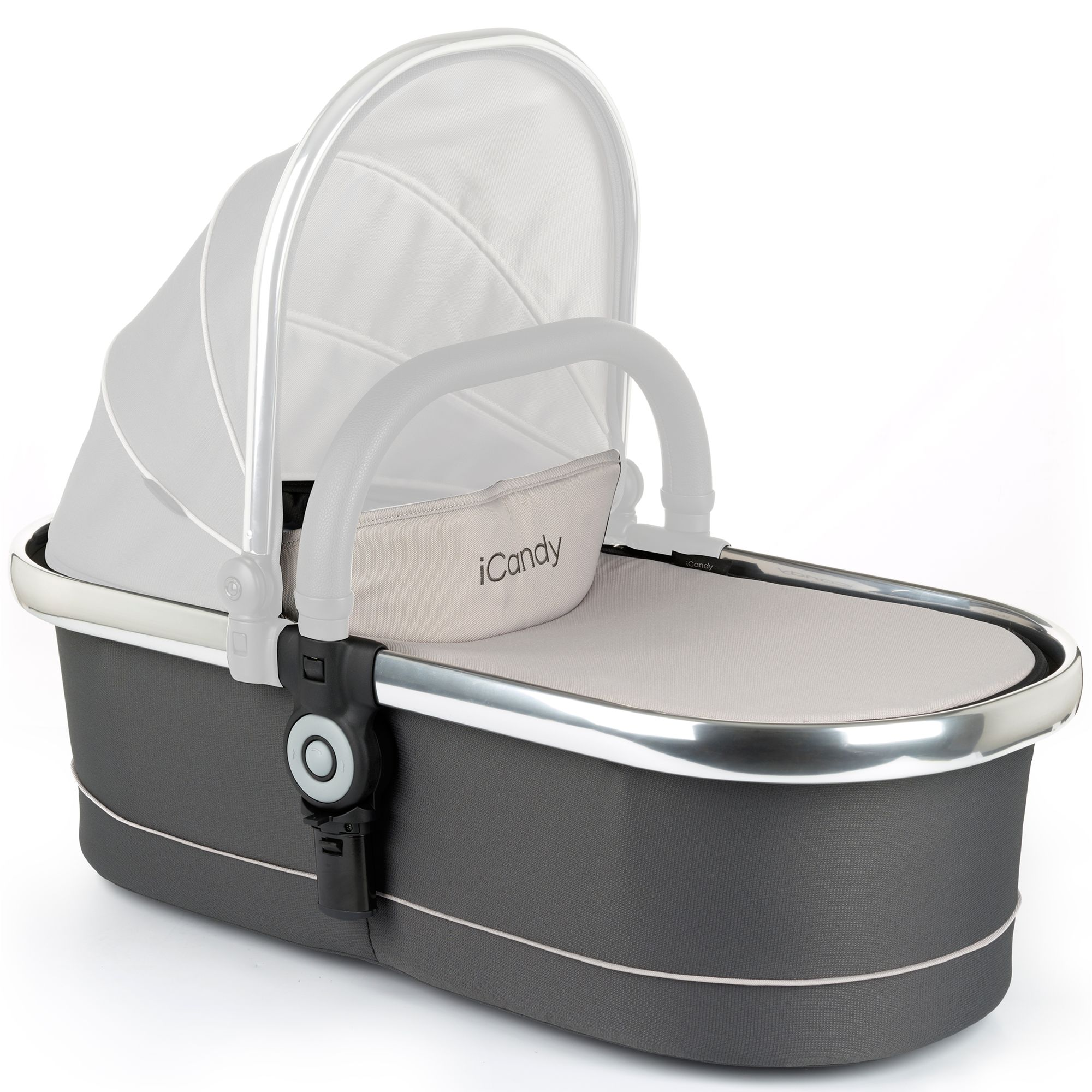 iCandy iCandy Peach Carrycot, Truffle 2