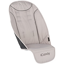 Buy iCandy Peach Universal Upper Core Seat Liner, Truffle 2 Online at johnlewis.com