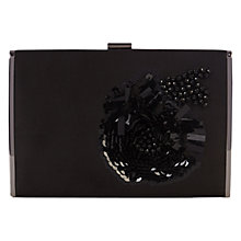 Buy Coast Harlie Embellished Clutch Bag, Black Online at johnlewis.com