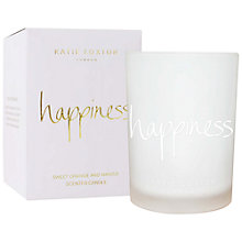 Buy Katie Loxton 'Happiness' Sweet Orange and Mango Scented Candle Online at johnlewis.com