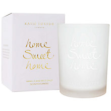 Buy Katie Loxton 'Home Sweet Home' Sweet Vanilla and Wild Daisy Scented Candle Online at johnlewis.com