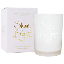 Buy Katie Loxton 'Shine Bright' Sweet Orange and Mango Scented Candle Online at johnlewis.com