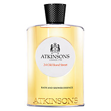 Buy Atkinsons 24 Old Bond Street Shower Gel, 200ml Online at johnlewis.com