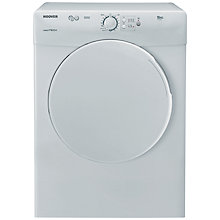 Buy Hoover Vision Tech VTV590NC Vented Tumble Dryer, B Energy Rating, 9kg Load, White Online at johnlewis.com
