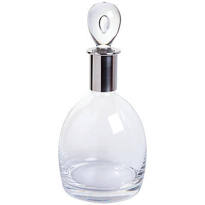 Dartington Crystal Soren Short Crystal Decanter