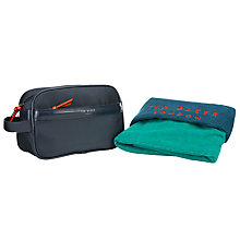 Buy Ted Baker Washbag and Towel Gift Set, Navy Online at johnlewis.com
