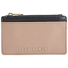 Buy Ted Baker Marrion Crosshatch Leather Coin Purse Online at johnlewis.com