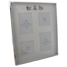 Buy John Lewis Silver Plated Collage Photo Frame Online at johnlewis.com