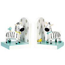Buy John Lewis Zebra Bookends Online at johnlewis.com