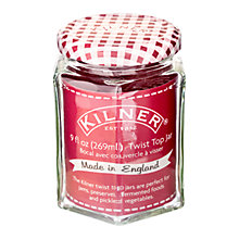 Buy Kilner Twist Top Jars, 269ml, Red, Set of 12 Online at johnlewis.com