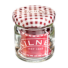 Buy Kilner Twist Top Jars, 40ml, Red, Set of 12 Online at johnlewis.com