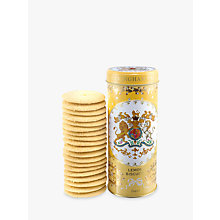 Buy Royal Collection Georgian Shortbread Tin & Biscuits, Yellow Online at johnlewis.com