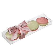 Buy The Cocoabean Company White Chocolate Macarons, 80g Online at johnlewis.com