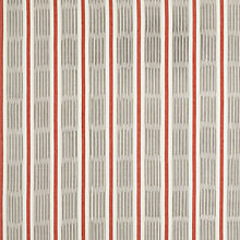 Buy John Lewis Woven Ikat Stripe Curtain, Paprika Online at johnlewis.com