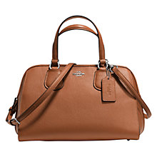 Buy Coach Nolita Leather Satchel Online at johnlewis.com