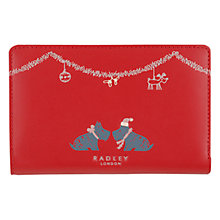 Buy Radley Xmas Kiss Medium Leather Purse Online at johnlewis.com