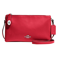 Buy Coach Crosby Leather Across Body Bag Online at johnlewis.com