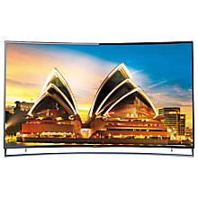 "Buy Hisense 65XT910 Curved 4K ULED 3D Smart TV, 65"" with Freeview HD and Built-In Wi-Fi Online at johnlewis.com"