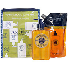 Buy L'Occitane Verbena Liquid Hand Soap Duo, 2 x 500ml Online at johnlewis.com