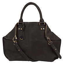 Buy Mint Velvet Soraya Bag, Black Online at johnlewis.com