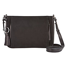 Buy Mint Velvet Emi Pocket Cross Body Bag, Black Online at johnlewis.com