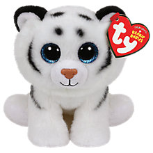 Buy Ty Beanie Babies Tundra Soft Toy, 15cm Online at johnlewis.com