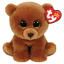 Buy Ty Beanie Babies Brownie Soft Toy, 15cm Online at johnlewis.com
