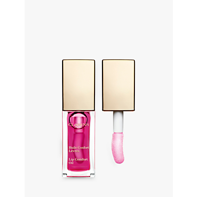 shop for Clarins Instant Light Lip Comfort Oil, Raspberry at Shopo