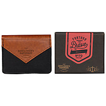 Buy Gentlemen's Hardware Canvas Wallet Online at johnlewis.com