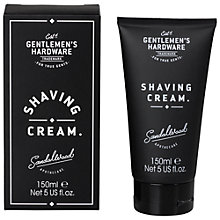 Buy Gentlemen's Hardware Shaving Cream Online at johnlewis.com